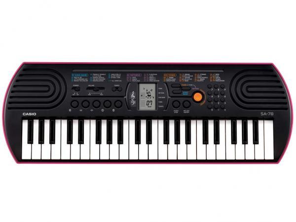 Casio SA78 TASTIERA TASTIERINA PIANOLA 44 TASTI PICCOLI IDEALE PER LA SCUOLA MEDIA SA-78