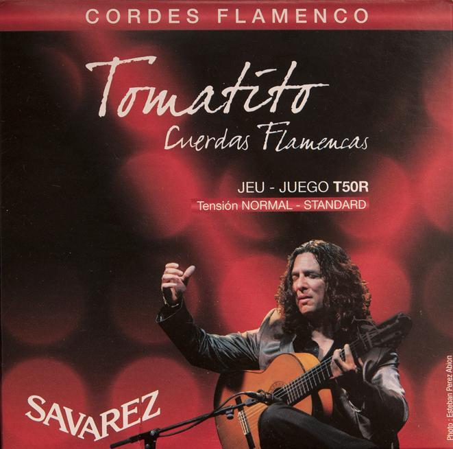 SAVAREZ TOMATITO T50R CUERDAS FLAMENCAS CORDE PER CHITARRA CLASSICA FLAMENCO T-50-R TENSIONE NORMALE