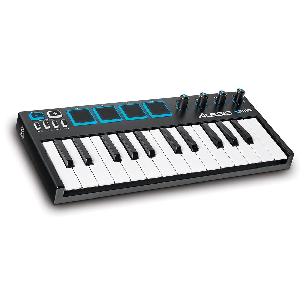 ALESIS V-MINI CONTROLLER MIDI USB 25 TASTI PICCOLI VMINI