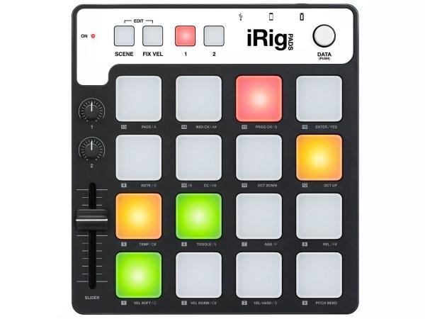 IK MULTIMEDIA IRIG PADS  MIDI GROOVE CONTROLLER PER IPHONE / IPAD / IPOD TOUCH / MAC E PC