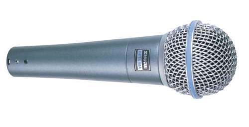 Shure BETA58    A Microfono dinamico supercardioide per voce BETA-58