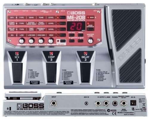Boss ME-20B Pedaliera Multieffetto  Per Basso