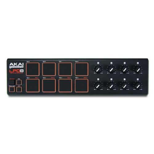 Akai LPD8  Controller Pad Midi USB
