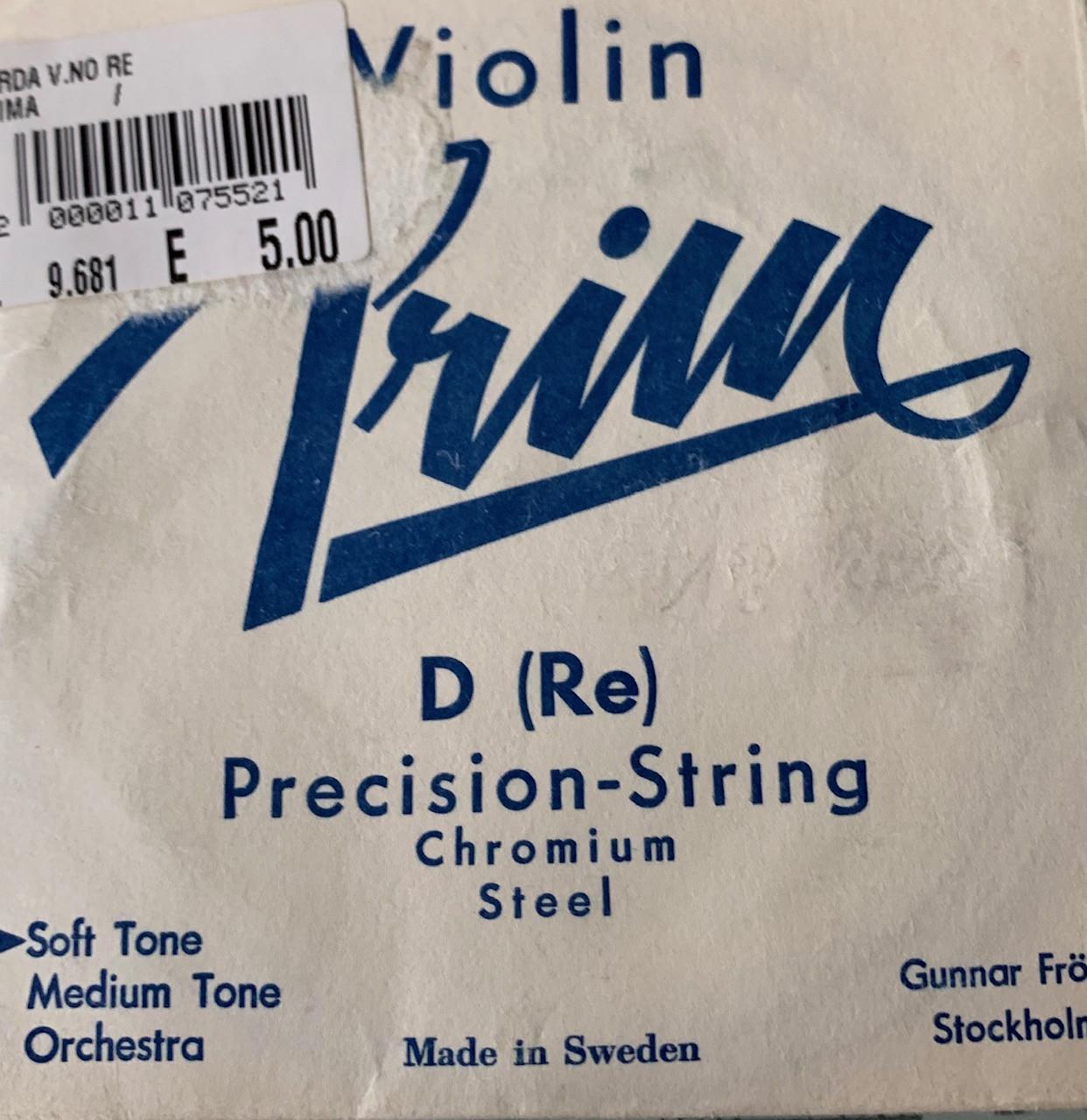 PRIM PRECISION STRINGS  CORDA RE  PER VIOLINO D