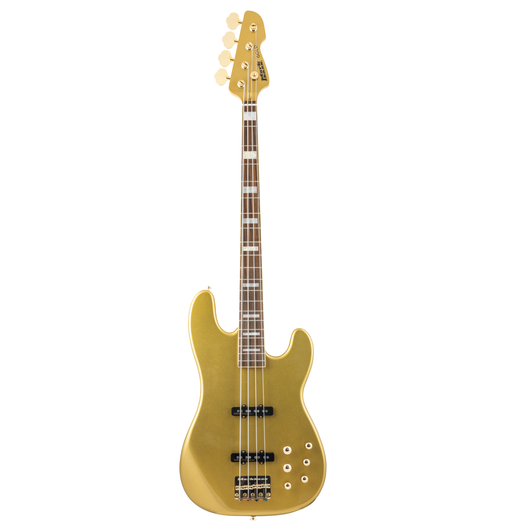 MARKBASS MB JP GOLD 4 GD PF BASSO ELETTICO 4 CORDE GOLD MADE IN ITALY