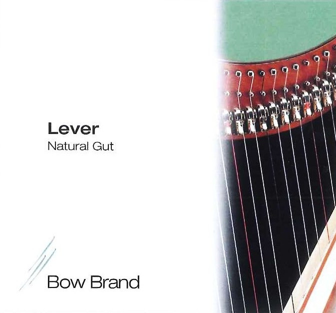 SALVI BOW BRAND DO 1 OTTAVA NATURAL GUT BUDELLO CORDA PER ARPA