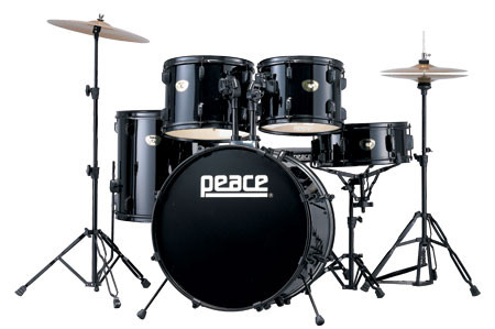 PEACE DEAMON DP-101 Batteria acustica nera DP101 Demon