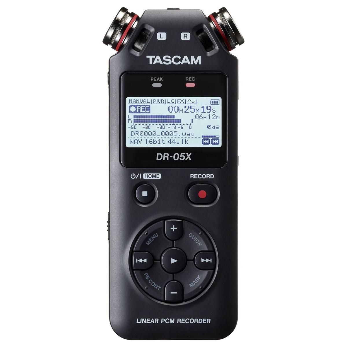 TASCAM DR-05X REGISTRATORE DIGITALE PALMARE CON INTERFACCIA USB DR05X