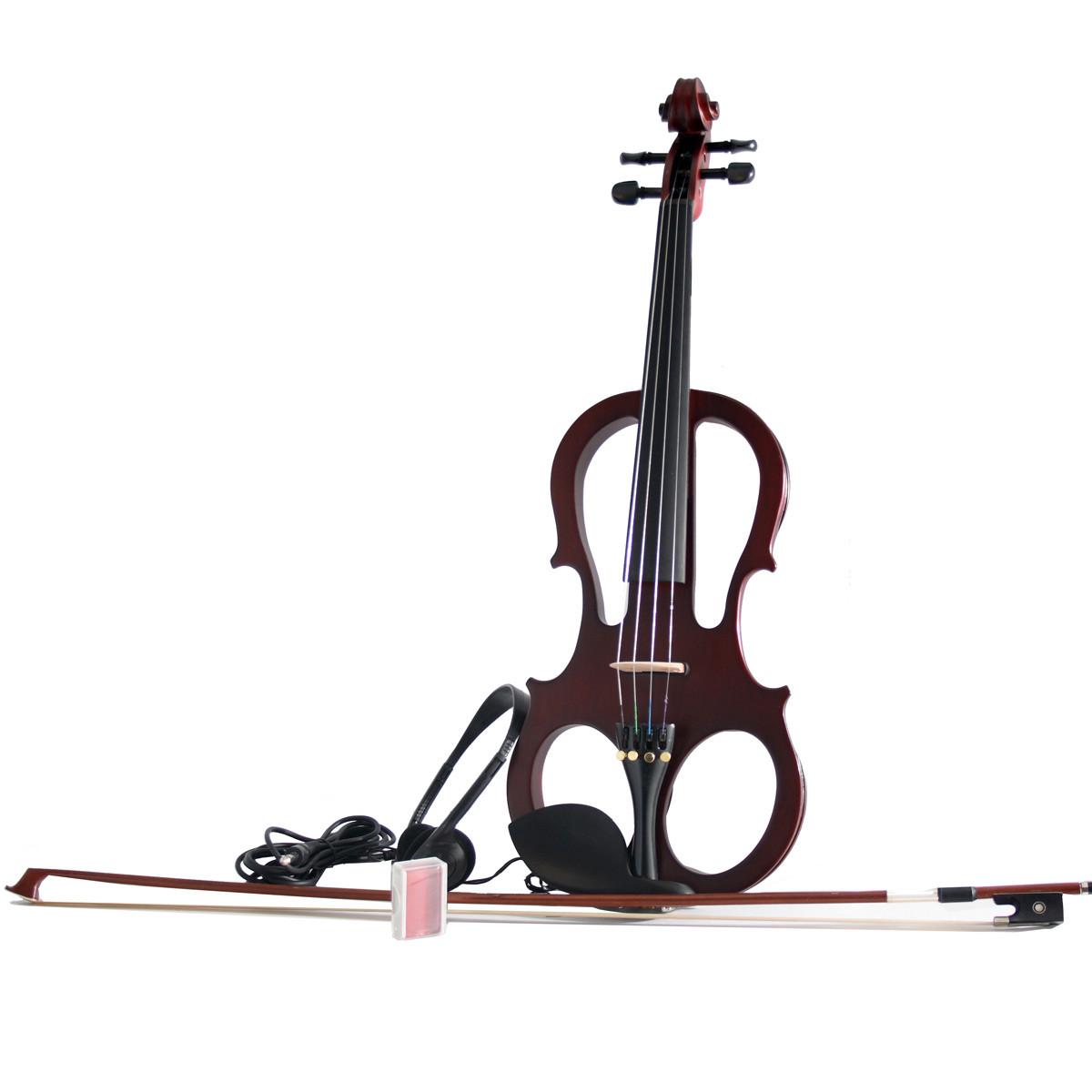 SOUNDSATION E-MASTER Violino elettrico 4/4 con astuccio, arco e cuffie