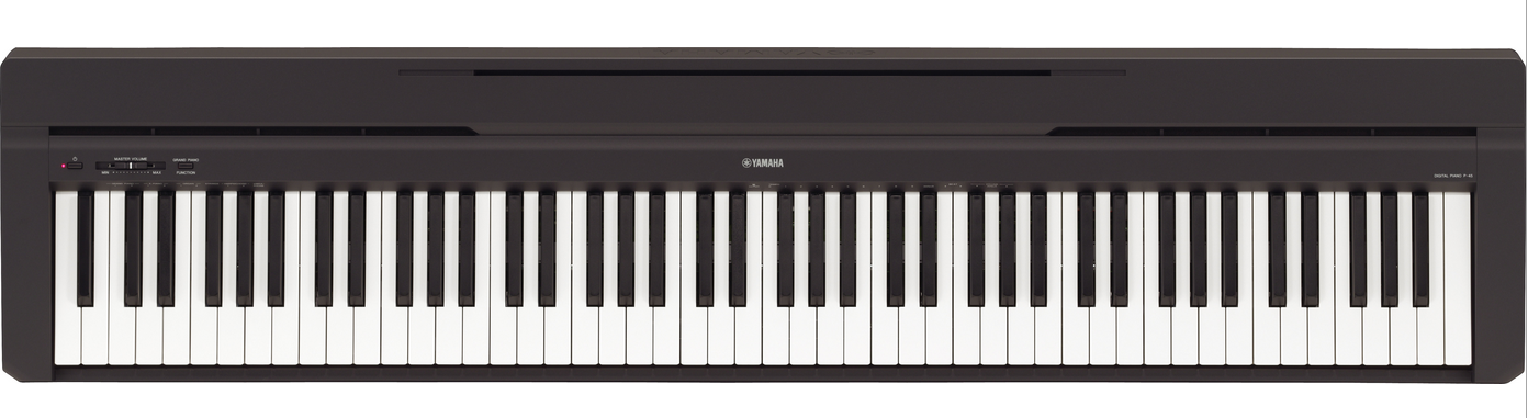yamaha p45 piano pianoforte digitale da palco 88 tasti pesati p 45 pianoforti digitali e da palco. Black Bedroom Furniture Sets. Home Design Ideas