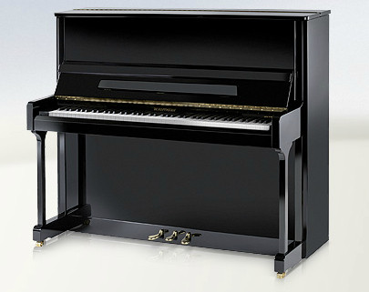 W. HOFFMANN MADE BY BECHSTEIN V-126 PIANO PIANOFORTE VERTICALE ACUSTICO V126