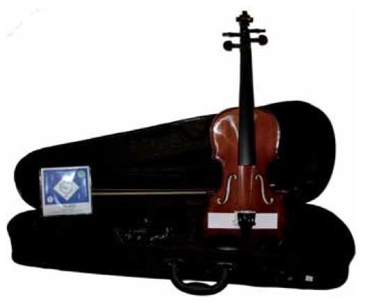 DOMUS MUSICA RIALTO VIOLINO VL1040 CON CUSTODIA E ACCESSORI MISURA 1/8 VL-1040