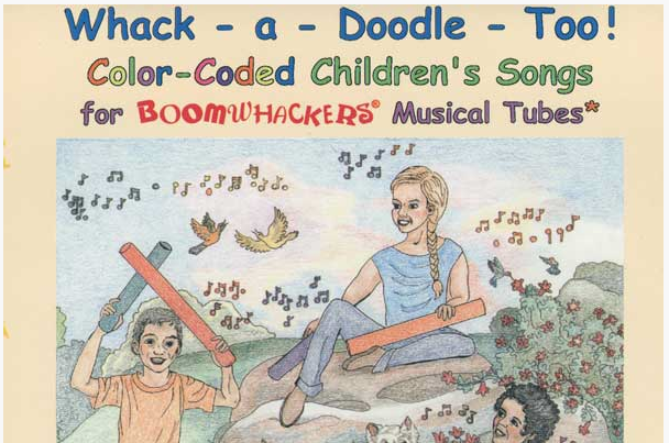 BOOMWHACKERS WHACK-A-DOODLE TOO LIBRO