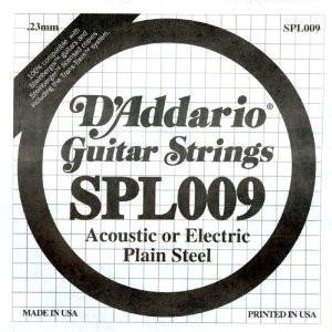 D'ADDARIO SPL009 CORDA PER STEINBERGER DIAM.009