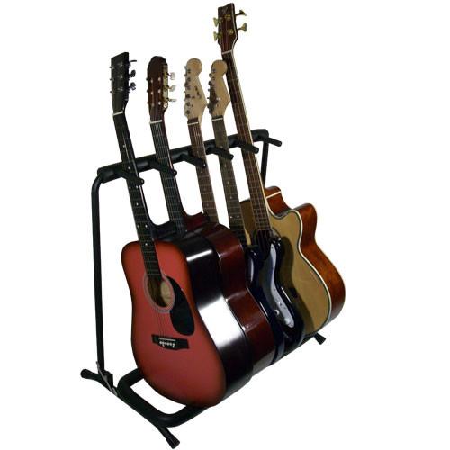 Bespeco Kanga05 Supporto per chitarra basso fino a 5 strumenti Kanga-05