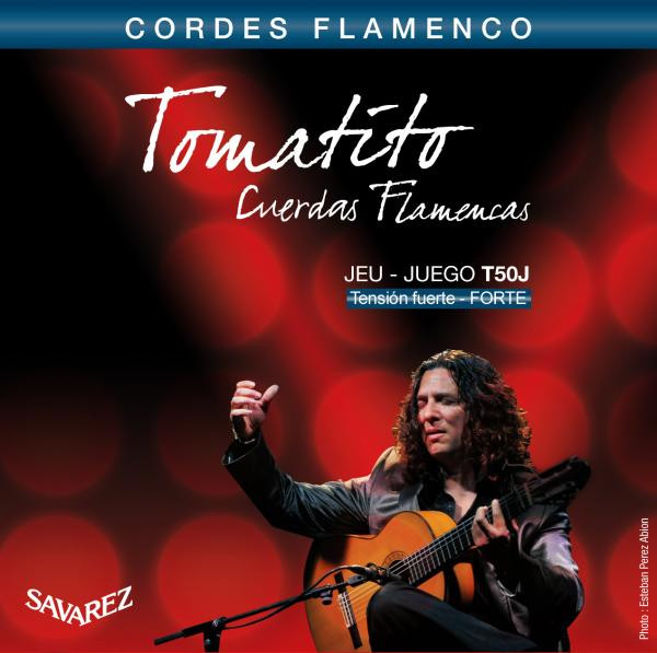 SAVAREZ TOMATITO T50J CUERDAS FLAMENCAS CORDE PER CHITARRA FLAMENCA T50-J TENSIONE NORMALE