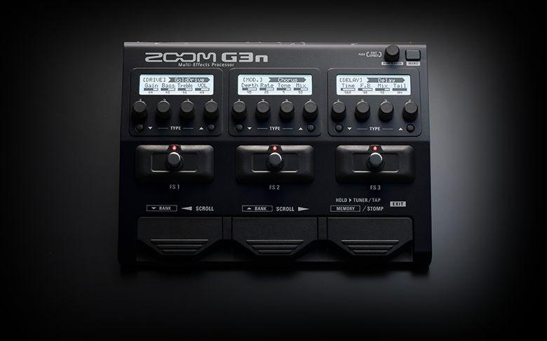 ZOOM G3N  PEDALIERA MULIEFFETTO AMP-SIMULATOR G-3-N