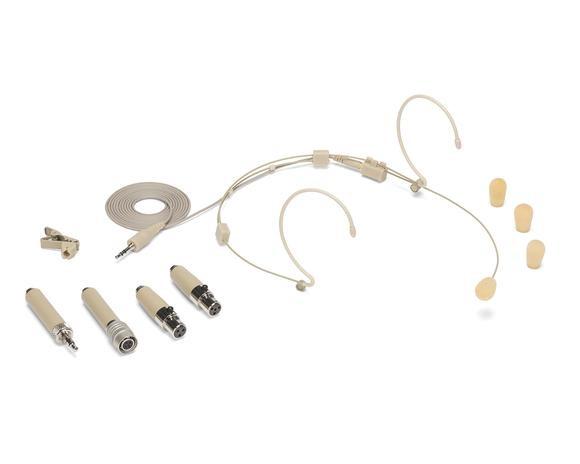 SAMSON DE50 MICROFONO DOPPIO A CONDENSATORE HEAD SET DOUBLE EAR BEIGE CON ASTUCCIO DE-50
