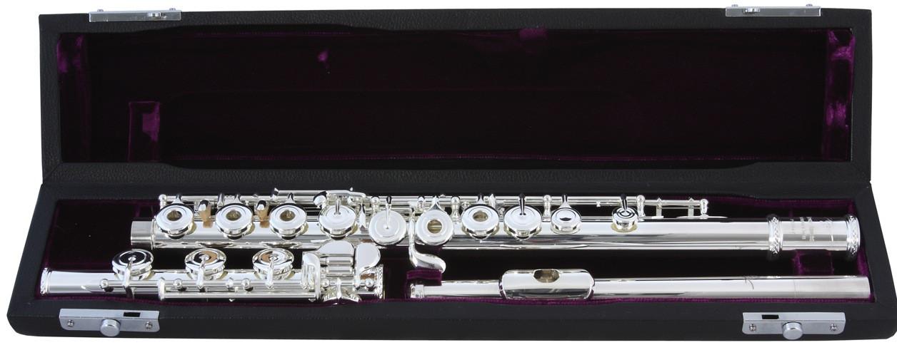 Trevor James Virtuoso 31-VF-HROEA Recital Flauto Traverso in argento 9.25  Fori Aperti 31VFHROEA