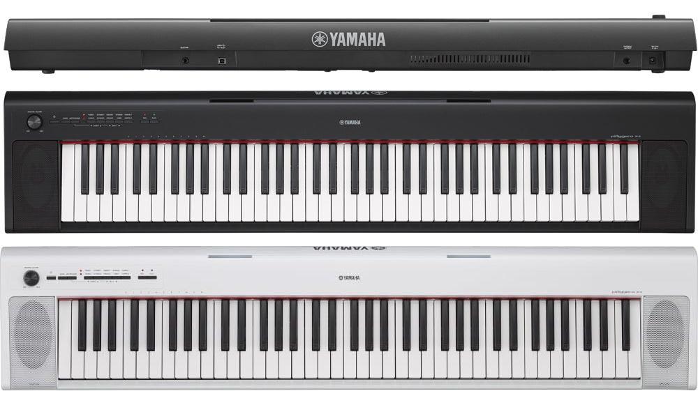 YAMAHA NP32 PIAGGERO PIANOFORTE PIANO DIGITALE 76 TASTI SEMI-PESATI NP-32