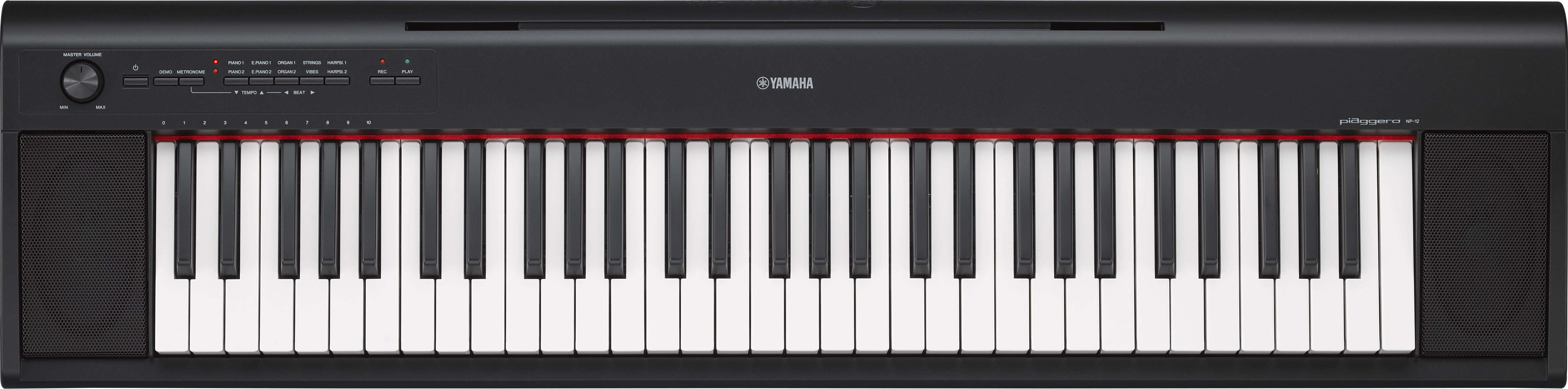 yamaha np12 piaggero pianoforte piano digitale 61 tasti