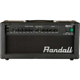 RANDALL RH50T TESTATA VALVOLARE 50 W PER CHITARRA RH-50-T