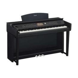 YAMAHA CLAVINOVA CVP705B PIANO PIANOFORTE DIGITALE GRADED HAMMER CON RITMI NERO SATINATO CVP-705 B