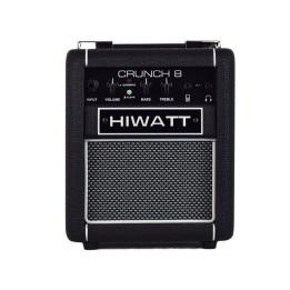 HIWATT CRUNCH 8W BLACK AMPLIFICATORE COMBO PER CHITARRA ELETTRICA 8W NERO