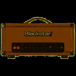 BLACKSTAR HT STUDIO 20H BRONCO TAN AMPLIFICATORE TESTATA VALVOLARE PER CHITARRA