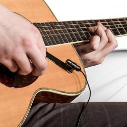 PRODIPE GL21 Lanen Acoustic Guitar & Ukulele MICROFONO CLIP CONDENSATORE PER CHITARRA E UKULELE GL-21