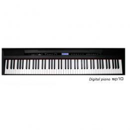 FBT SP10 B PIANO PIANOFORTE DIGITALE 88 TASTI PESATI SP-10 NERO