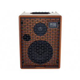 ACUS ONE FORSTREET WOOD AMPLIFICATORE A BATTERIE PER CHITARRA ACUSTICA 80W