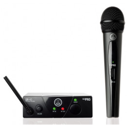 AKG WMS40 MINI VOCAL SET RADIOMICROFONO A MANO WMS-40