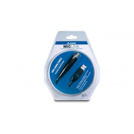 ALESIS MICLINK INTERFACCIA AUDIO PER VOCE  CAVO USB COLLEGAMENTO PC A MICROFONO