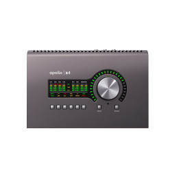 UNIVERSAL AUDIO APOLLO X4 HERITAGE EDITION INTERFACCIA SCHEDA AUDIO 12x18 THUNDERBOLT 3 CON DSP UAD