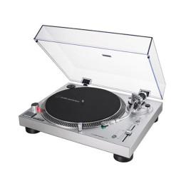 AUDIO TECHNICA  AT-LP120X-SV USB GIRADISCHI A TRAZIONE DIRETTA PER DJ SILVER