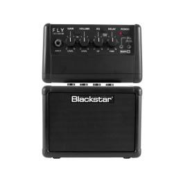 BLACKSTAR FLY3 MINI AMP BK MINI COMBO AMPLIFICATORE A BATTERIE PER CHITARRA 3W NERO