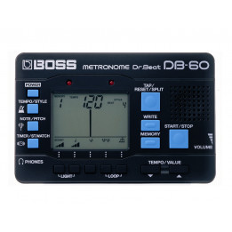 BOSS DB60 DR. BEAT METRONOMO DIGITALE DB-60