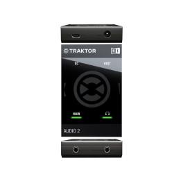 NATIVE INSTRUMENTS TRAKTOR AUDIO 2 DJ Mk2  SCHEDA AUDIO CON PREASCOLTO USB AUDIO2 MKII
