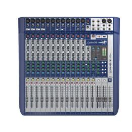 SOUNDCRAFT SIGNATURE 16 MIXER USB CON EFFETTI  16 CANALI SIGNATURE16