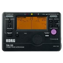 KORG TM50 ACCORDATORE METRONOMO DIGITALE TM-50