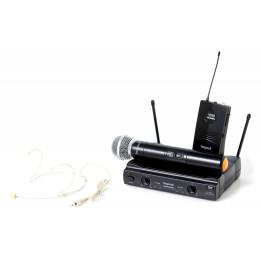 BESPECO GM 905 HPR DOPPIO RADIOMICROFONO PALMARE/HEADSET GM905HPR