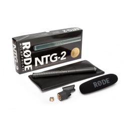 RODE NTG2  MICROFONO A FUCILE ALTA QUALITA CON ALIMENTAZIONE MULTIPLA SUPERCARDIOIDE NTG-2