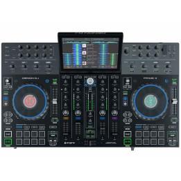 """DENON DJ PRIME 4 CONSOLLE CONTROLLER STANDALONE PER DJ CON 4 DECK E TOUCH SCREEN 10"""""""