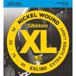 D'ADDARIO EXL180 MUTA PER BASSO 4 CORDE EXL-180