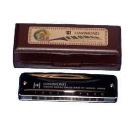 SUZUKI HAMMOND  HA-20 ARMONICA A BOCCA VARIE TONALITA' HA20