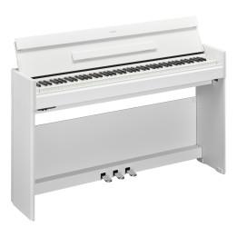 YAMAHA YDP-S54 ARIUS YDPS54 WH PIANO PIANOFORTE DIGITALE CON MOBILE 88 TASTI PESATI BIANCO YDP-S54WH