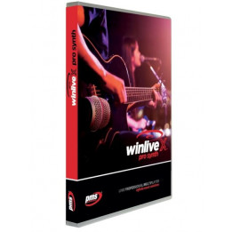 PRO MUSIC 10001 WINLIVE PRO SYNTH 10 SOFTWARE KARAOKE MIDI/AUDIO PLAYER PROFESSIONALE CON EXPANDER VIRTUALE GM/GS