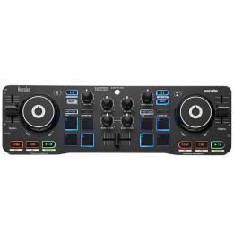 HERCULES DJ CONTROL STARLIGHT CONTROLLER DIGITALE COMPATTO PER DJ 2 CANALI
