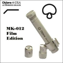 OKTAVA MK-012-01 MOVIE SET SILVER MICROFONO A CONDENSATORE DIAFRAMMA STRETTO CAPSULA INTERCAMBIABILE